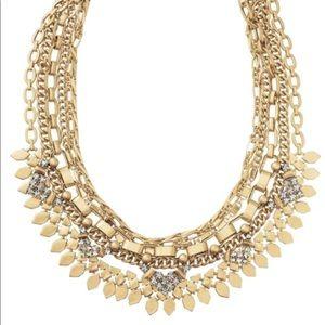 Stella & Dot Gold Sutton Necklace (5-in-1)